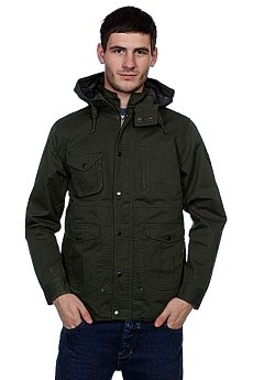 Куртка Huf Waxed Highland Jacket Rifle Green