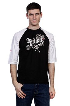 Футболка Animal Next 3/4 Sleeve Tee Black