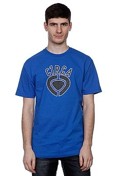 Футболка Circa Mcd Plaid Icon Tee Royal Blue