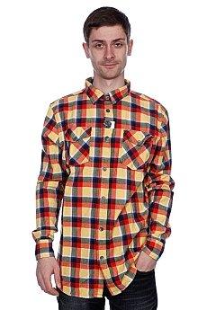 Рубашка в клетку Globe Corsair Shirt Orange