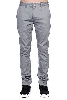 Штаны прямые Etnies Cash Out Chino Pant Grey