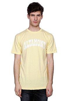 Футболка Altamont Smollege Tee Light Yellow
