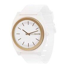 Часы Nixon The Time Teller P White Gold Ano