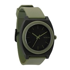Часы Nixon The Time Teller P Matte Black/Surplus