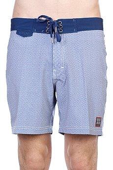Пляжные мужские шорты Insight Dice Raw Mid Black Out Blue