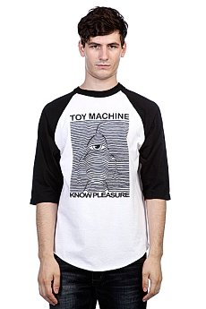Футболка Toy Machine Toy Division Black/White