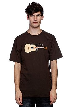 Футболка Enjoi Guitarded Dark Chocolate