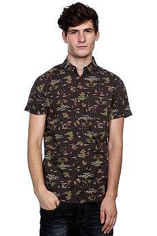 Рубашка Globe Crococlock Shirt Vint Blk
