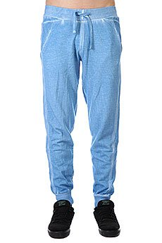 Штаны прямые Urban Classics Ss14 Spray Dye Sweatpants Sky Blue