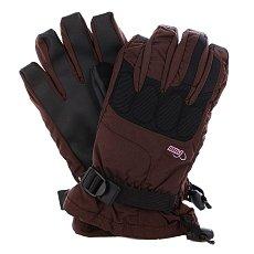 Перчатки сноубордические женские Pow Ws Warner Glove Brown