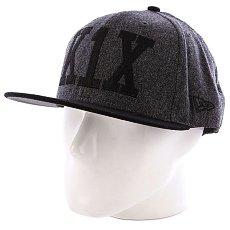 Бейсболка New Era K1X Simple Type Wool 59/50 NewEra Black Heather