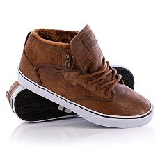 Кеды утепленные Globe Motley Mid Dist Brown Fur