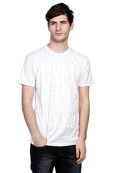 Футболка Creature F U Tonal White
