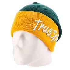 Шапка True Spin Stay True 2 Tone Green/Yellow