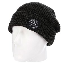 Шапка Etnies Yemen Beanie Black/Dark Grey