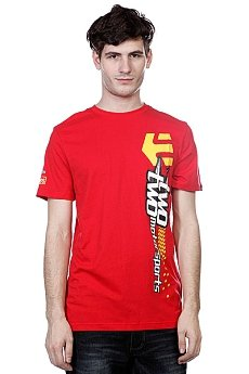 Футболка Etnies Kick Off S/S Tee Red