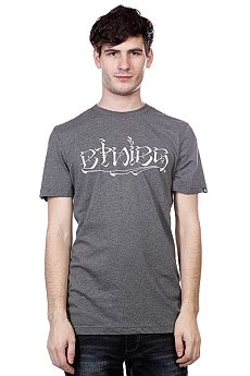 Футболка Etnies Frontside S/S Tee Charcoal/Heather