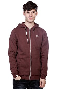 Толстовка Altamont Basic Zip Fleece Oxblood