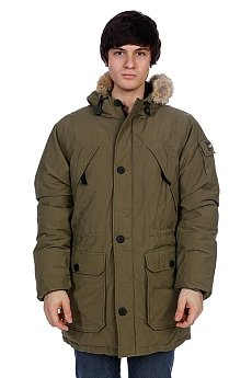 Куртка парка Penfield Hoosac Parka (real Fur) Olive Drab