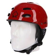 Шлем для скейтборда женский Pro-Tec Ace Wake Gloss Red