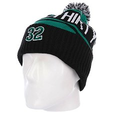 Шапка с помпоном Thirty Two Peeping Pom Beanie Green