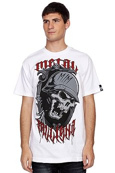 Футболка Metal Mulisha Freakshow Optic White