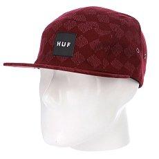 Бейсболка пятипанелька Huf Luxe Volley Wine