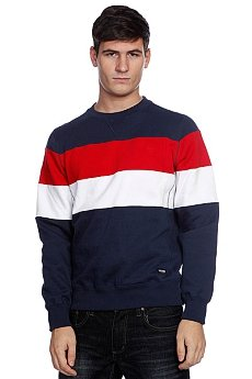Свитшот Zoo York Striped Crew Navy
