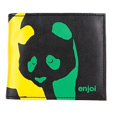 Кошелек Enjoi Panda Wallet Black/Rasta