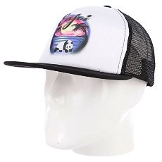 Бейсболка с сеткой Enjoi Shattered Dreams Trucker White