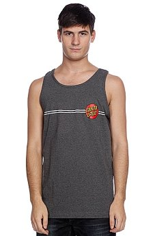 Майка Santa Cruz Classic Dot Tank Charcoal Heather