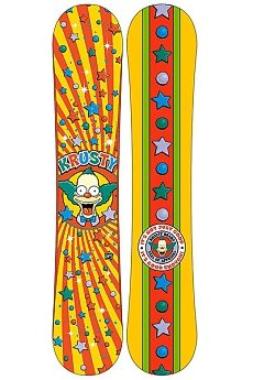 Сноуборд Santa Cruz The Simpsons Krusty Cruzer  154