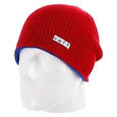 Шапка носок Neff Daily Reversible Blue/Red