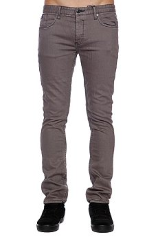 Штаны Etnies Slim Fit Denim Pant Grey