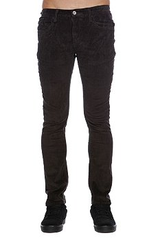 Штаны прямые Altamont Alameda Cord 5 Pkt Worn Black