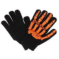 Перчатки сноубордические Grenade Skull Black/Orange