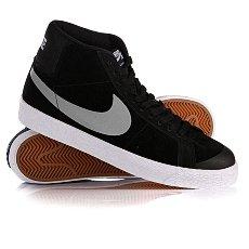Кеды высокие Nike Blazer Sb Premium Se Black/Base Grey