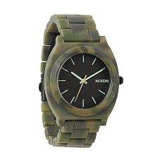 Часы Nixon Time Teller Acetate Matte Black/Camo