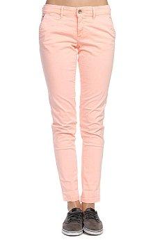 Штаны прямые женские Roxy Sunkissers Colors Peach Orange