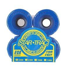 Колеса для лонгборда Kryptonics Star Trac Premium Blue 82A 60mm