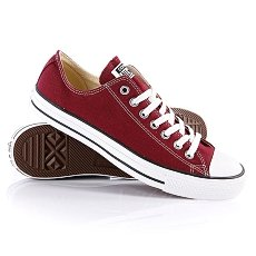 Кеды Converse All Star Ox Maroon