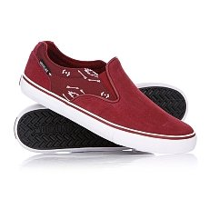 Слипоны Dekline Ct Slip On Ruby/White