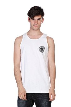 Майка Independent Bauhaus Cross Tank White