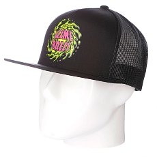 Бейсболка с сеткой Santa Cruz Slimeballs Trucker Black