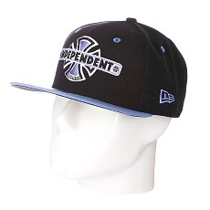 Бейсболка New Era Independent Vintage NewEra Black/Blue
