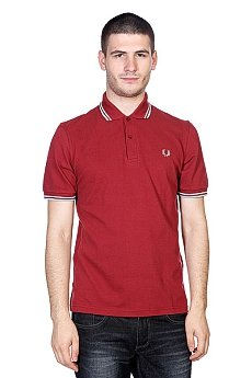 Поло Fred Perry Twin Tipped Burgundy