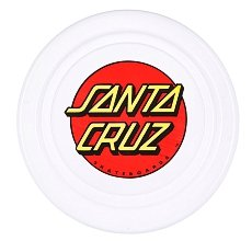 Фрисби Santa Cruz Classic Dot Flyer White