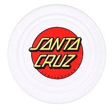 Фрисби Santa Cruz Classic Dot Flyer White