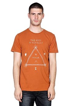 Футболка Globe Nigh Tee Bison Brown