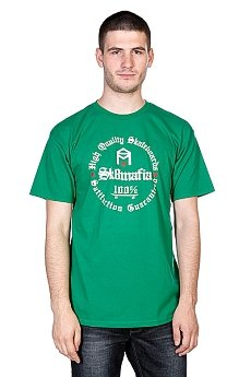 Футболка Sk8mafia 100% Hq Kelly Green